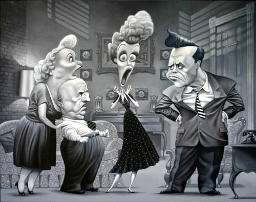 Image result for I love lucy art