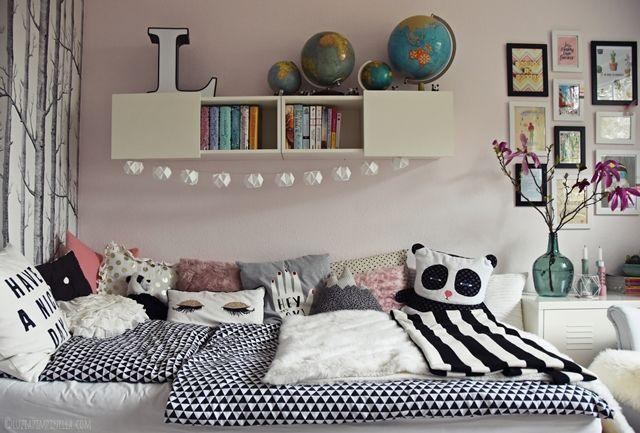 interior teenager m dchen zimmer teen room makeover anouk 39 s bedroom. Black Bedroom Furniture Sets. Home Design Ideas