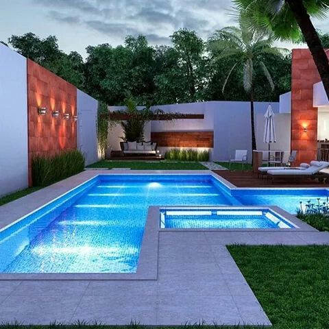 Swimming Pool and Spa Pool Lighting Pinterest Swimming pools
