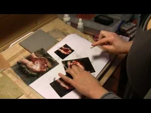 ▶ How to Alter a Photo - Altered Art Mixed Media Style with Milliande - YouTube