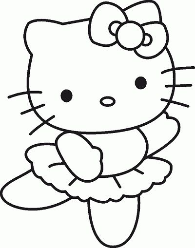 Resultado de imagem para desenho de imprimir da hello kitty | 布織布 ...