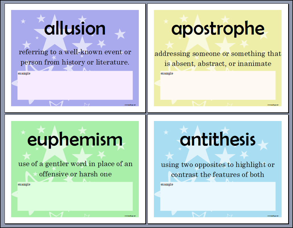 antithesis of words Antithesis - the juxtaposition of contrasting words or ideas to give a feeling of balance rhetorical device - a use of language that creates a literary effect (but often without regard for literal significance.