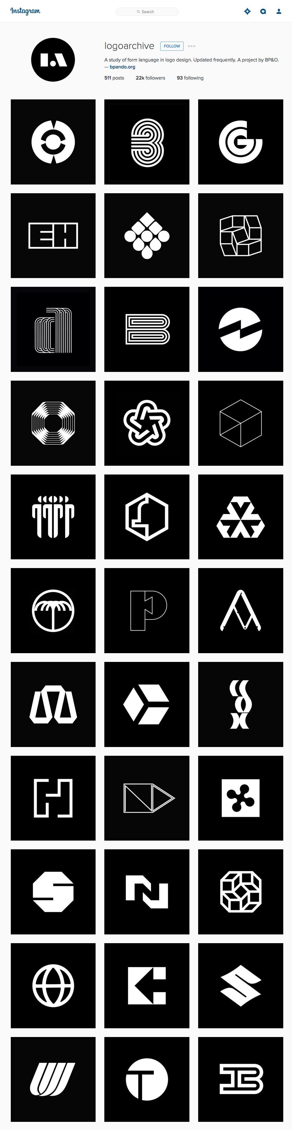 Logoarchive Los Mejores Isotipos Del Siglo Xxi En Instagram