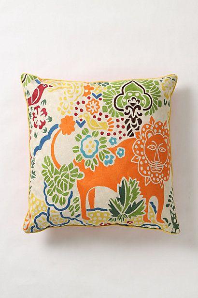 fantastic forest pillow anthropologie colors for living. Black Bedroom Furniture Sets. Home Design Ideas