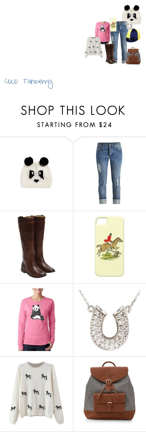 """""""Coco Tanberry"""" by ravenwolf123 ❤ liked on Polyvore featuring Blueberry Hill, Frye, Los Angeles Pop Art, Accessorize, women's clothing, women, female, woman, misses and juniors"""