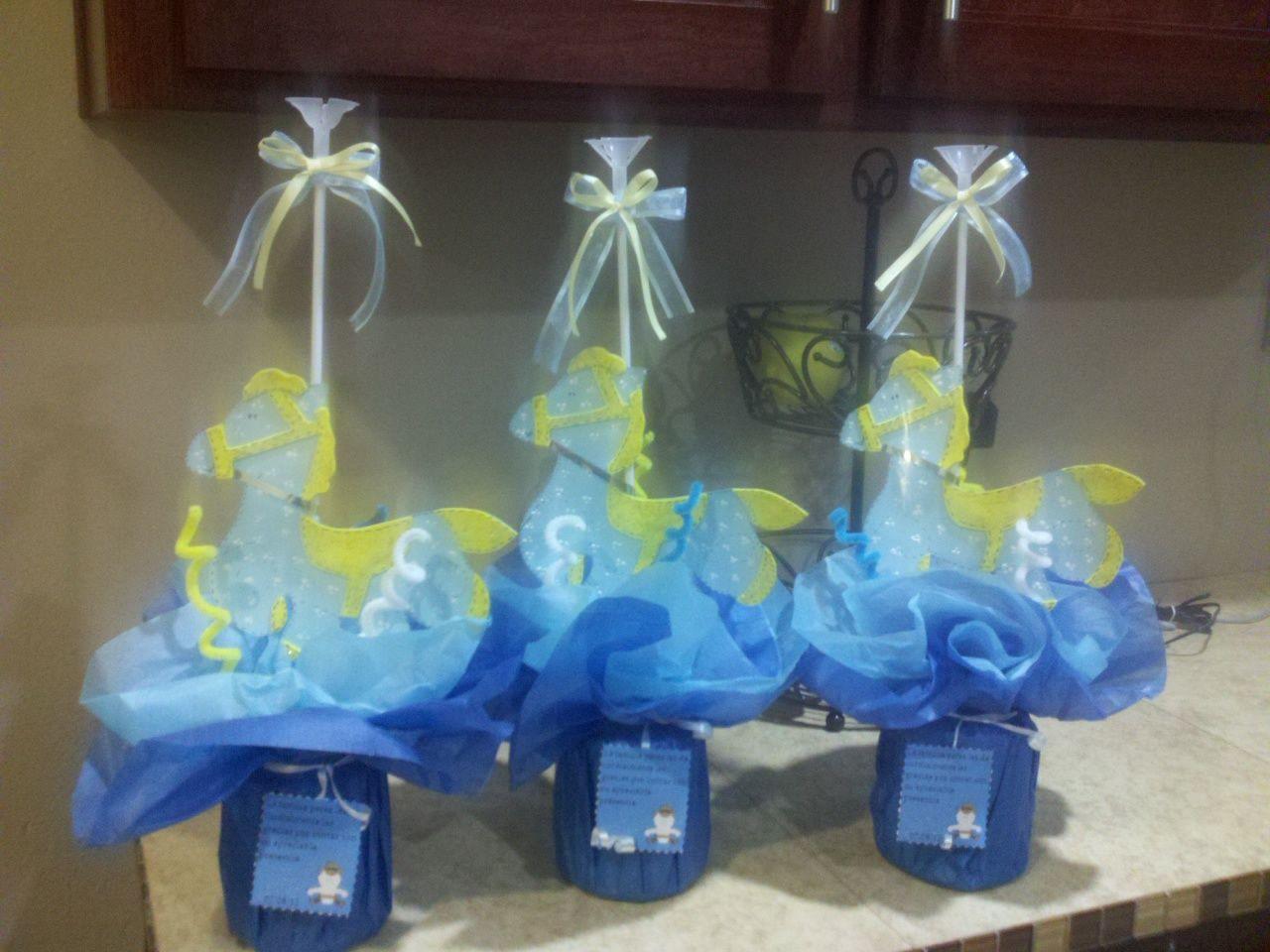 Centros De Mesa Para Baby Shower   FIESTAIDEAS.