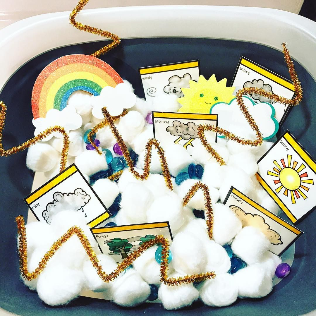 Dani From Piece Of Cake Preschool Made An Awesome Weather