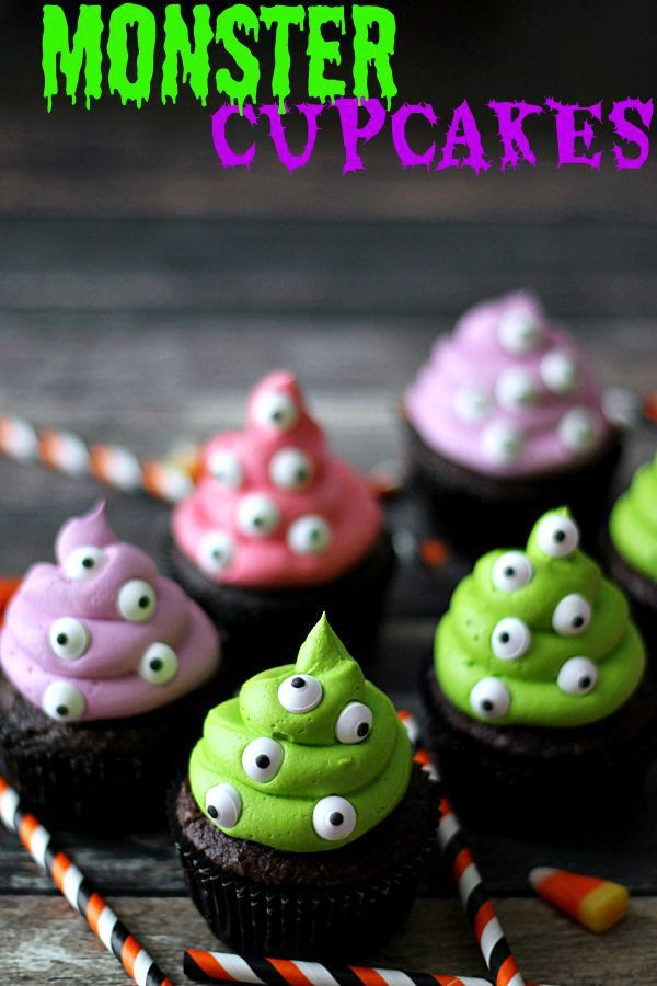 Monster Cupcakes – The Best Blog Recipes