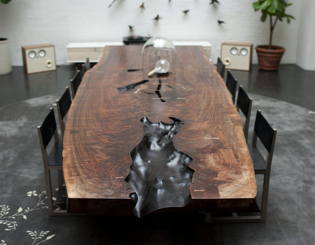 17+ images about dining table on pinterest | live edge table