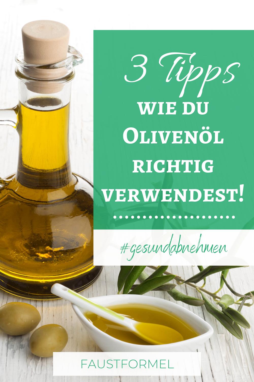 Olivenöl hilft beim Abnehmen