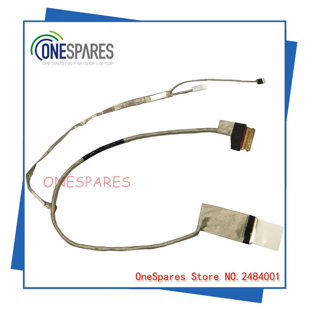 Free Shipping New For Lenovo B480 B480a B490 M490 Lcd Cable Screen Video Cable P N 50 4tf01 004 Electronic Accessories Video Cable Lenovo
