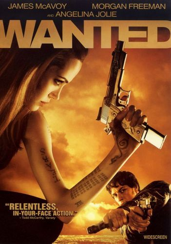 Wanted Ws Dvs Enhanced Dvd 2008 Best Buy Wanted Movie Angelina Jolie Movies Full Movies Online Free