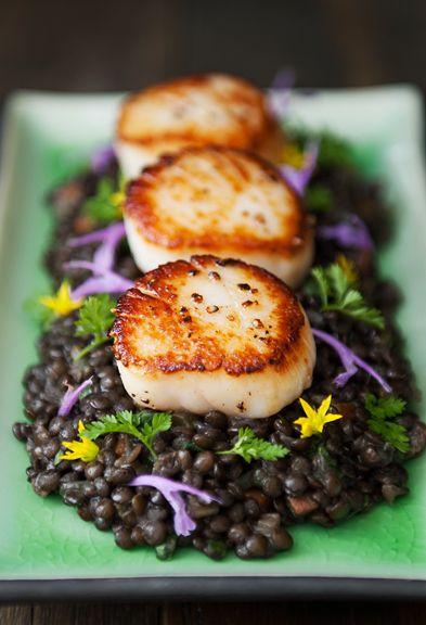 Braised Beluga Black Lentils Recipe Beluga Lentils Recipe Lentil Recipes Vegetarian Recipes Healthy