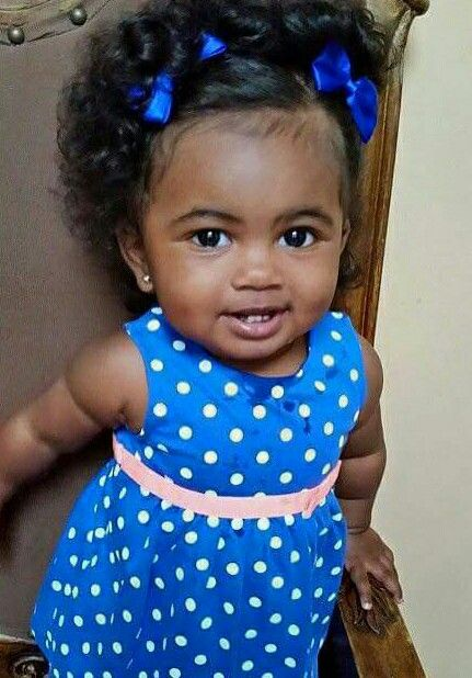 Pin By U T On God Bless The Child Baby Hairstyles Beautiful Black Babies Baby Girl Hairstyles