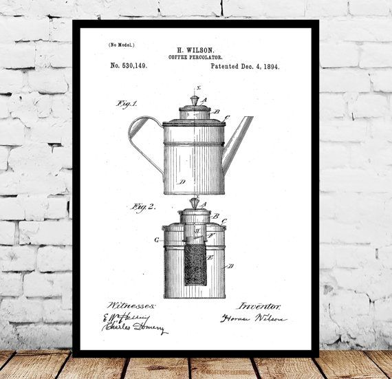 Coffee percolator print coffee percolator poster coffee percolator coffee percolator print coffee percolator poster coffee percolator patent coffee percolator blueprint coffee decor coffee shop art by stanleyprinthouse malvernweather Image collections