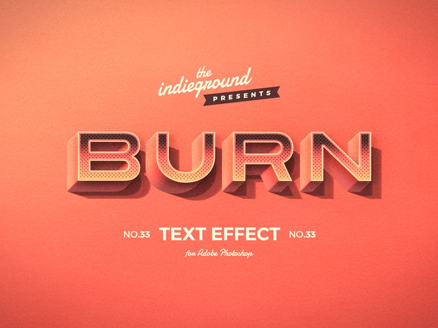 Retro Vintage Text Effect N 33 Indieground Design In 2020 Vintage Text Text Effects Retro Text