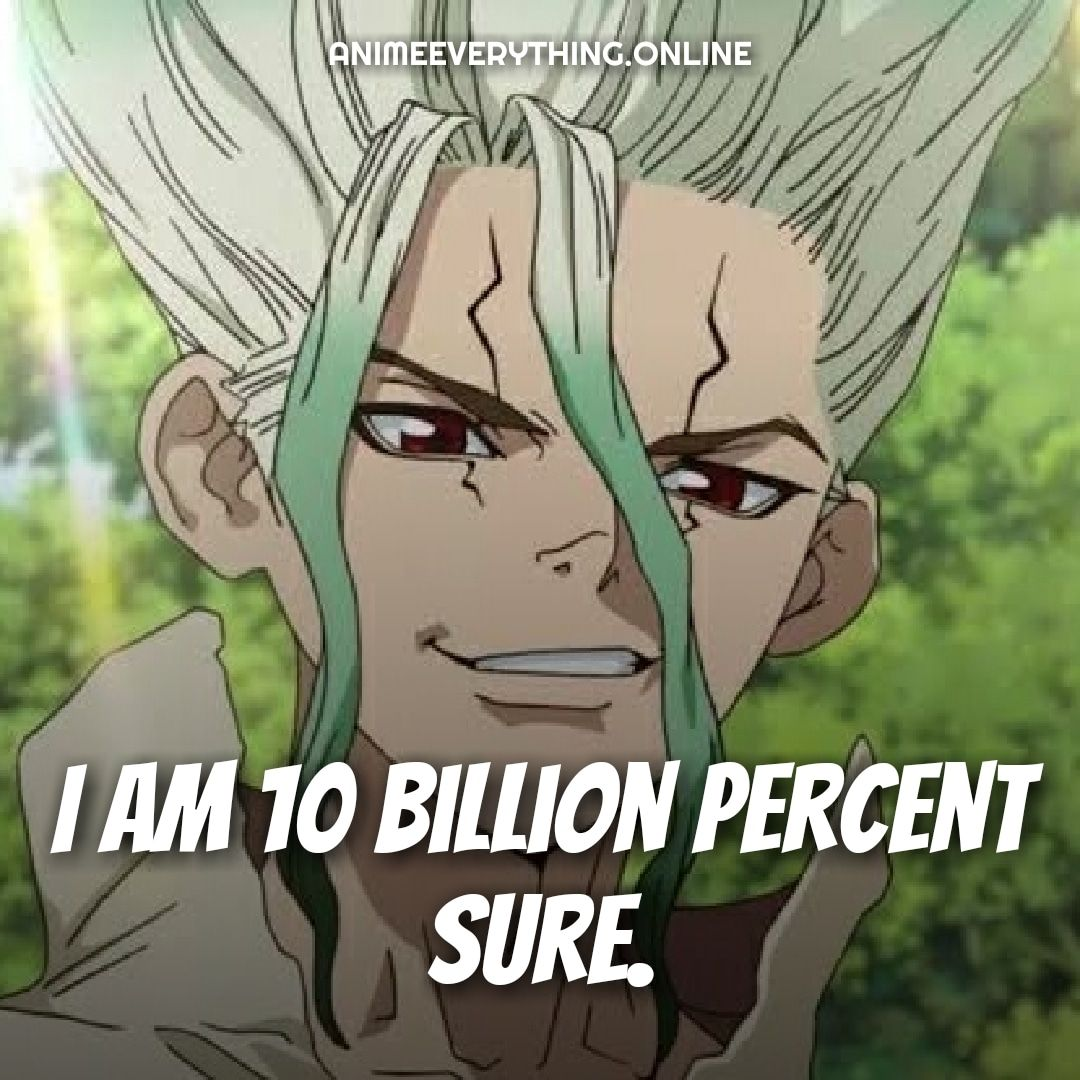 Amazing Dr. Stone Quotes [Anime Quotes] in 2020 (With