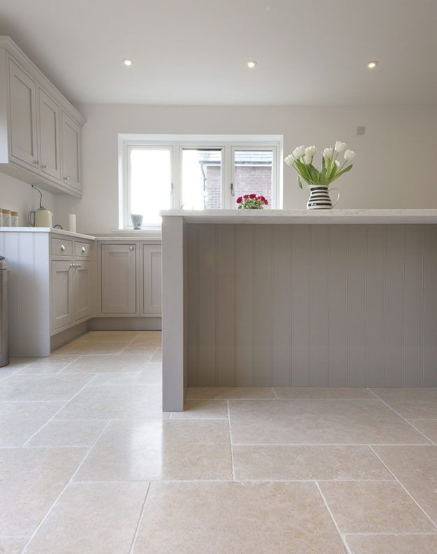 Dijon Tumbled Limestone Tiles And Pavers Mystonefloor Com Kitchen Tiles Design Open Plan Kitchen Living Room Kitchen Floor Tile