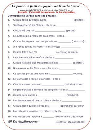 Passe Compose Francais Et Anglais Passe Compose Conjugaison