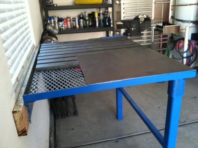 Another Folding Table Welding Table Welding Table Diy Folding