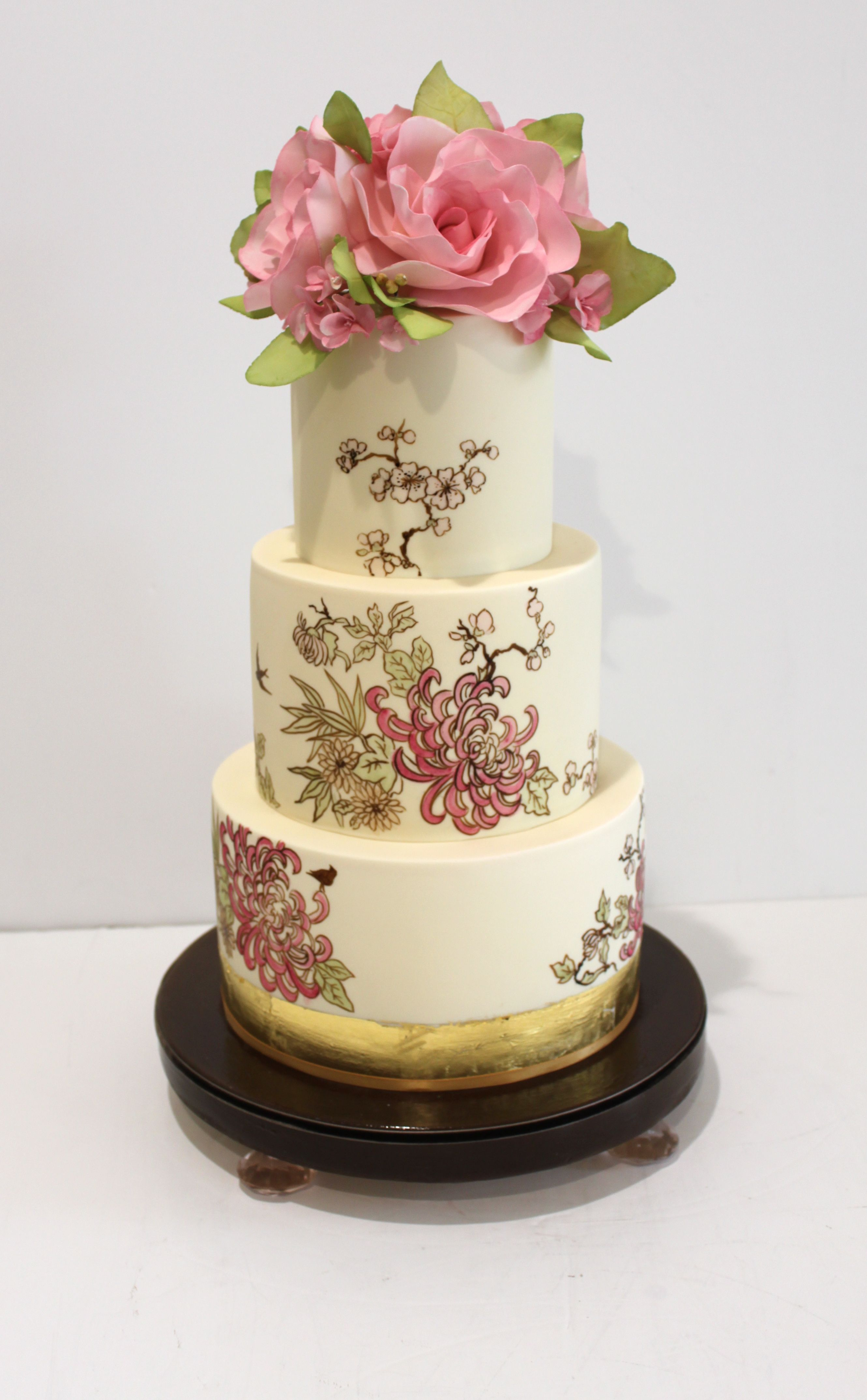 Beautiful Wedding Cakes from Faye Cahill Cake Design in Australia ...