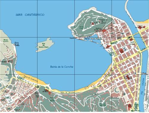 San Sebastián / Donostia | Mapas urbanos | Pinterest