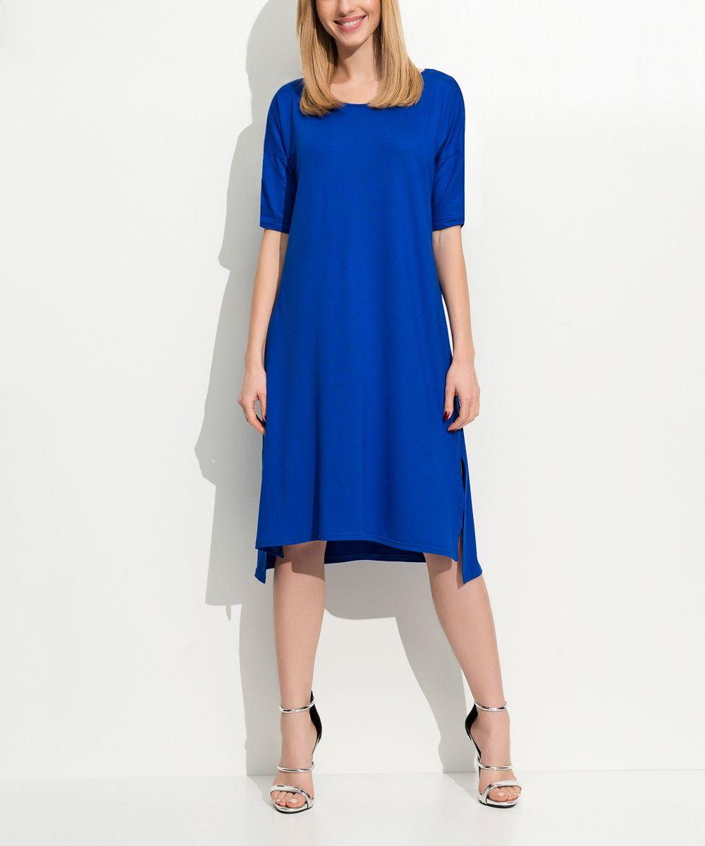 Cornflower hilow dress products