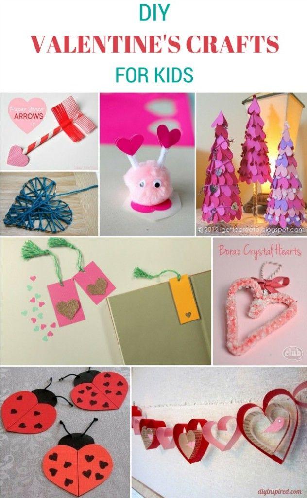 Valentine Craft Ideas For Kids Part - 50: DIY Valentines Crafts For Kids Homelifeabroad.com