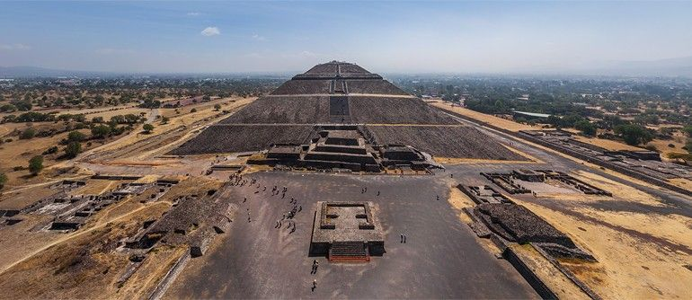 Teotihuacan, Mexico - AirPano.com • 360 Degree Aerial Panorama • 3D Virtual Tours Around the World