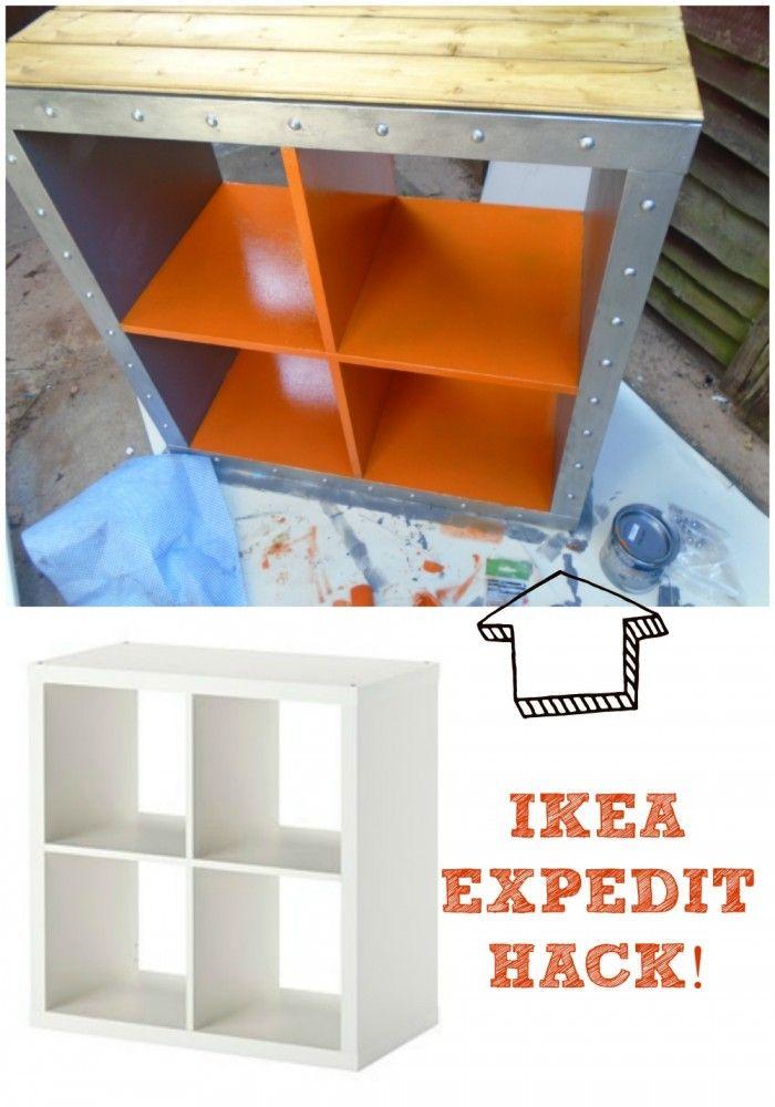 Ikea Kallax Hack Industrial Storage For A Boys Bedroom