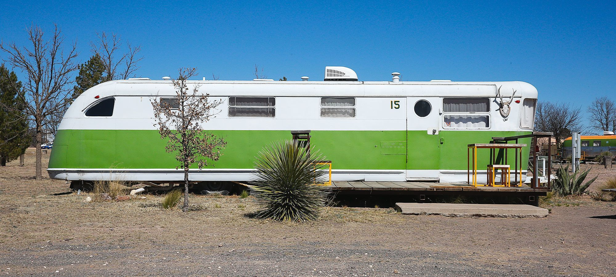 This Texas Hotel Doesn\'t Have Rooms—Only Trailers and Yurts—and it\'s ...
