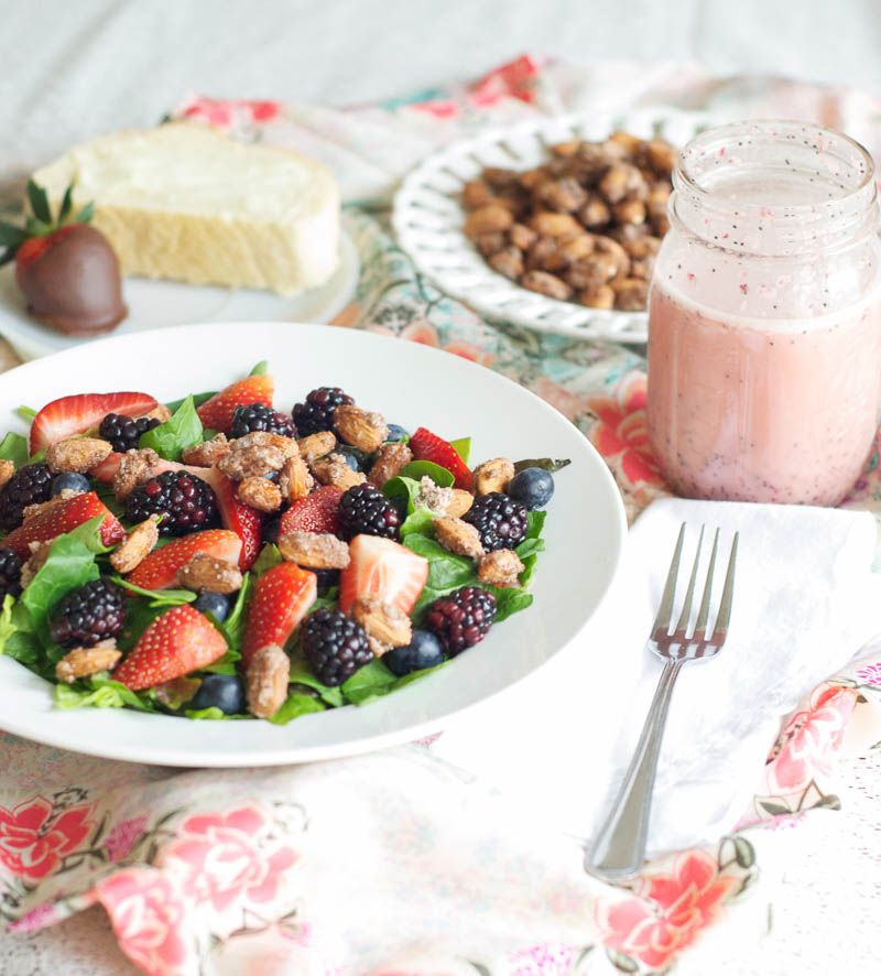 Nuts About Berries Salad. Favorite❤️