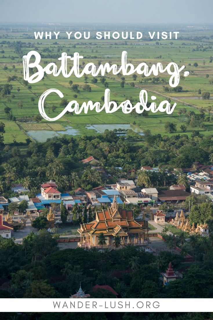 Planning a trip to Battambang? My city guide covers all the best things to do in Battambang – including lesser-known gems – plus hotel, bar and restaurant recommendations, and transport instructions. #Battambang #Cambodia | Cambodia travel | Where to go in Cambodia | Things to do in Cambodia | Battambang bamboo train | Battambang things to do | Battambang city | Battambang architecture