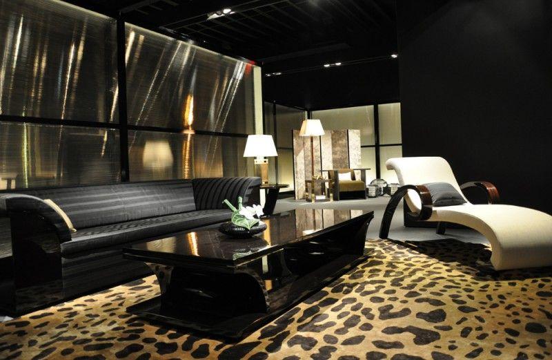 Armani Brown Living Room Miami Beach Real Estate Furniture