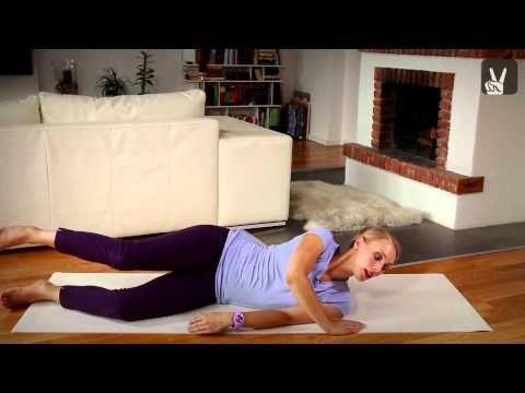 Pilates-Workout für Beine und Po