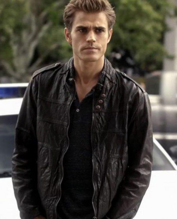 Photo of Paul Wesley The Vampire Diaries Jacket