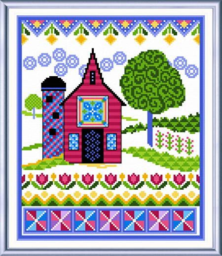 Jan Hagara Cross Stitch Patterns: Quilts Cross Stitch Patterns