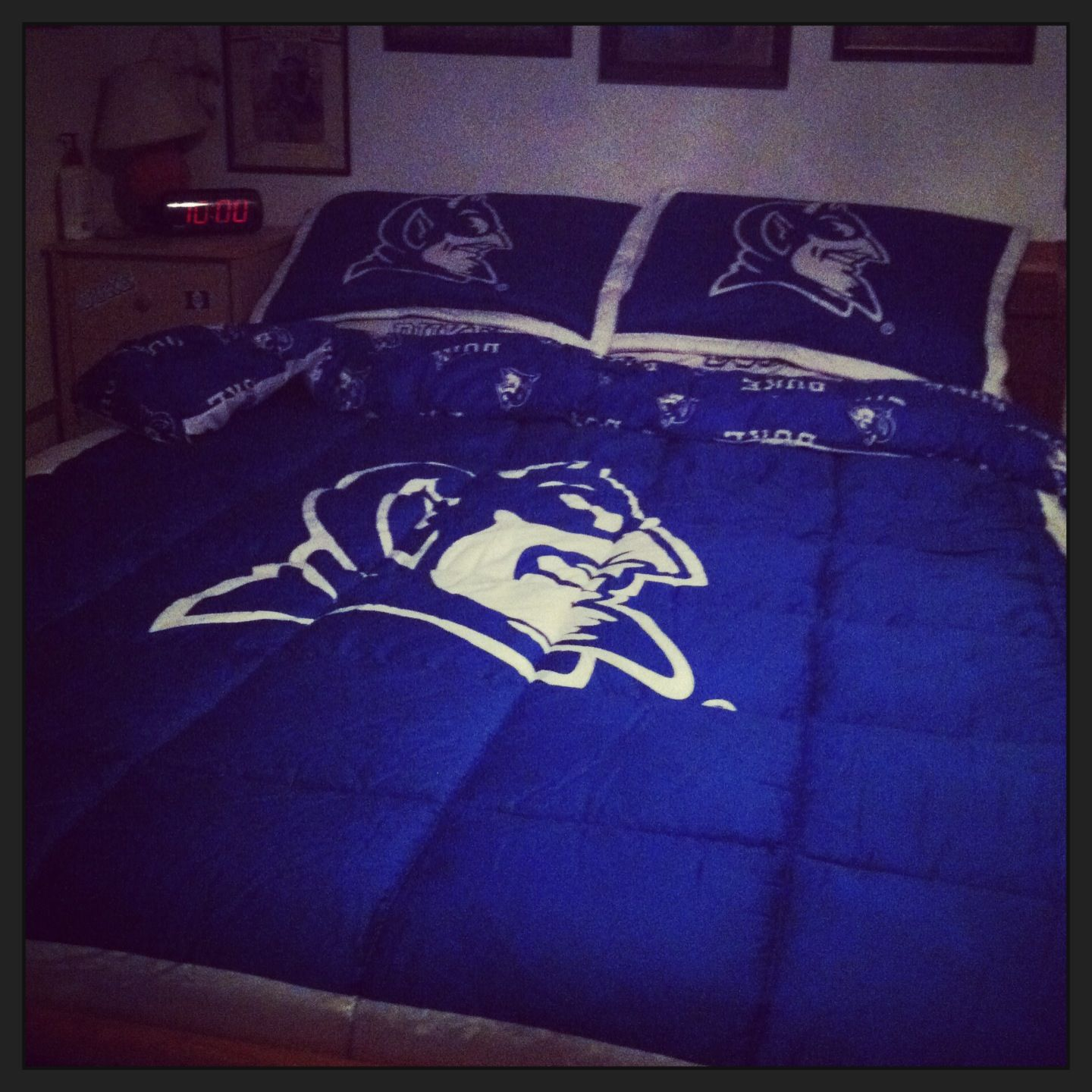 Our Duke Blue Devils Bed Set