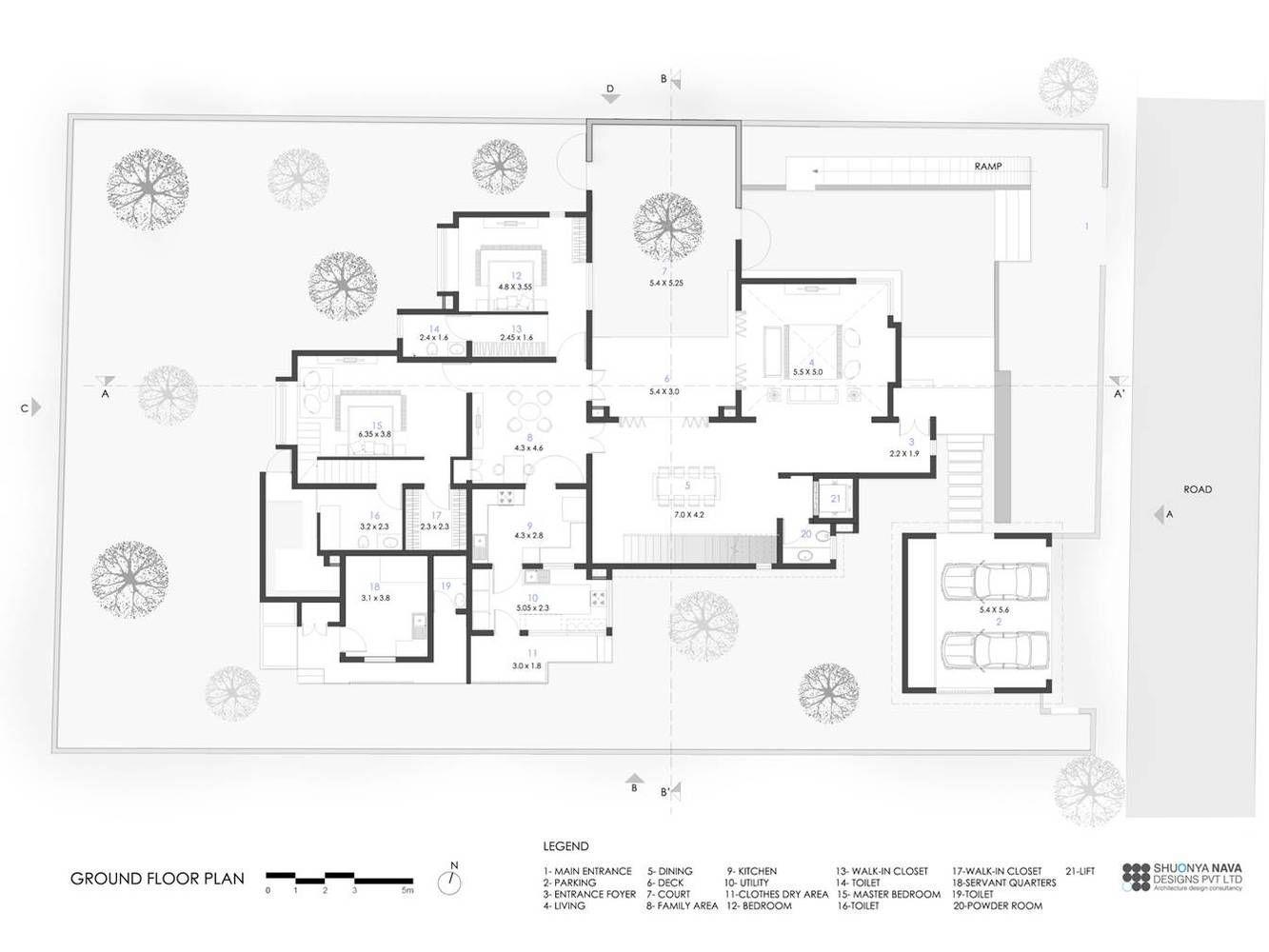Gallery Of Farm House Shuonya Nava Designs 26 In 2020 Ground Floor Plan Design House