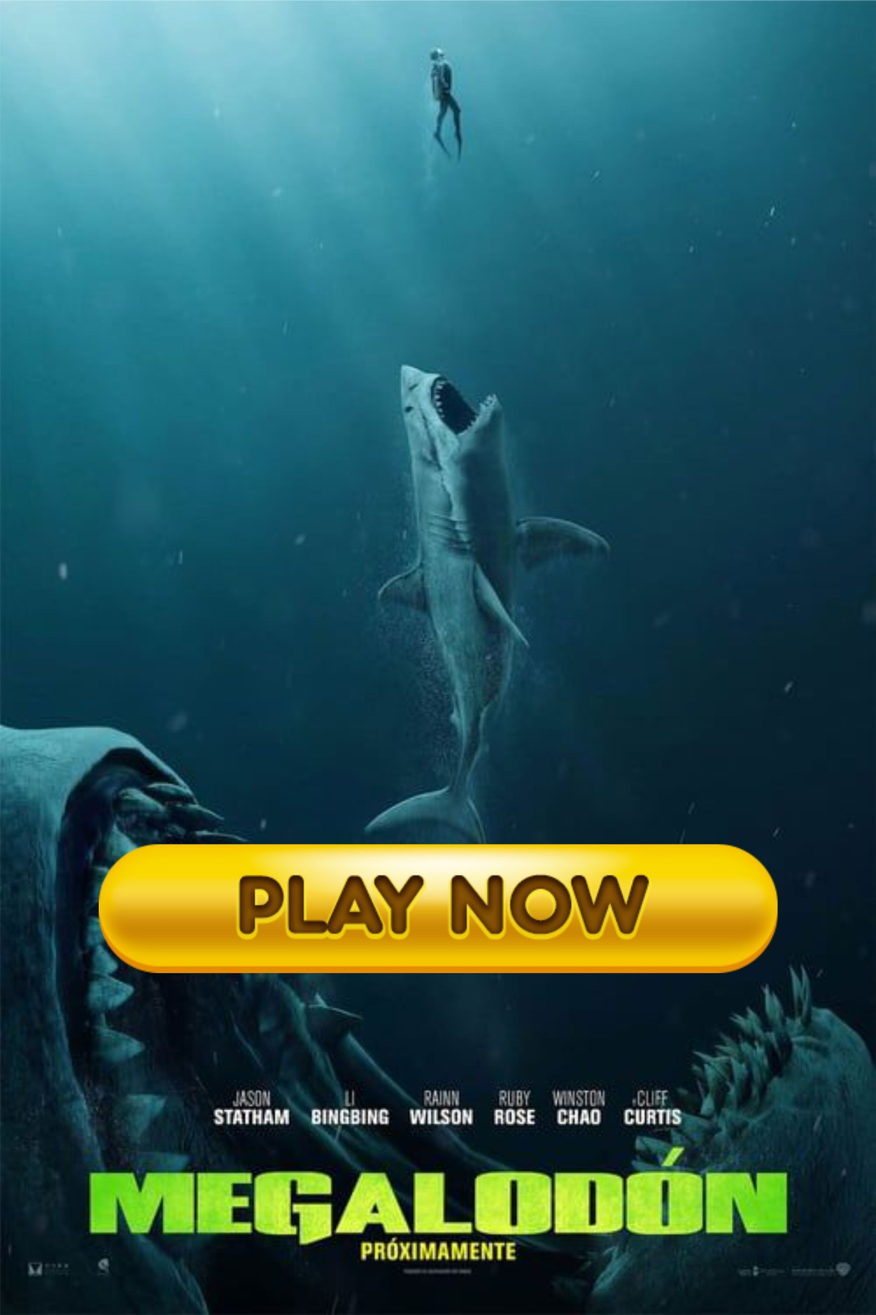 Ver Megalodon 2018 Online Espanol Pelicula Hd Completa Full Movies Marianas Trench Movies