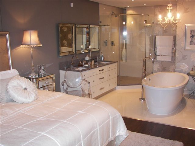 Best Main Bedroom En Suite Bathroom Building A House 400 x 300