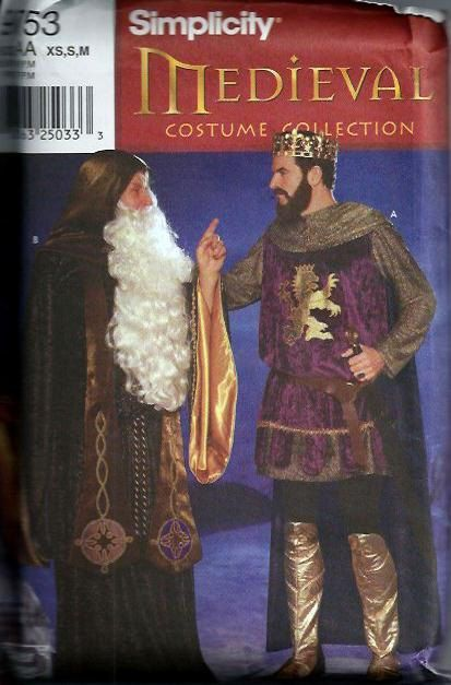 Men's Medieval Wizard & Knight Merlin and by DawnsDesignBoutique, $15.00