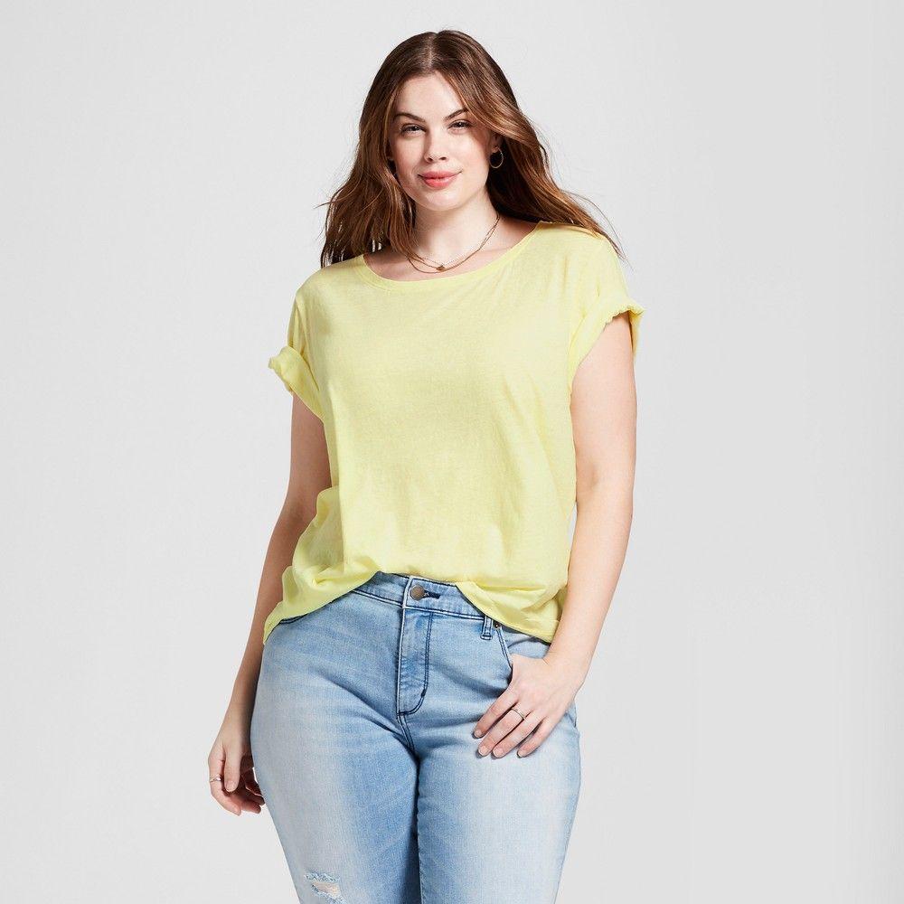 Womenus plus size meriwether crew neck tshirt universal thread