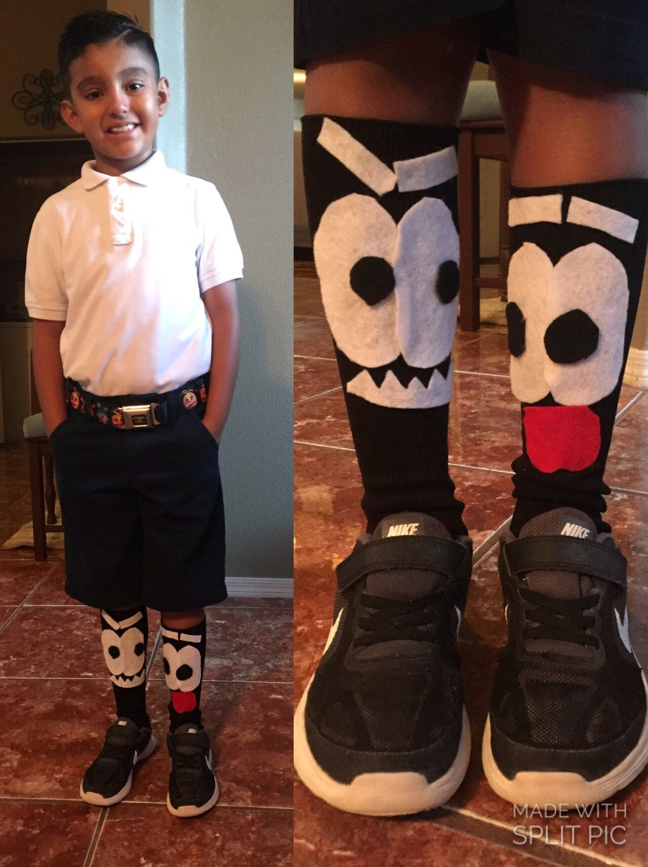 Crazy Sock Day for 3rd graders! Easy DIY! #crazysockdayideas