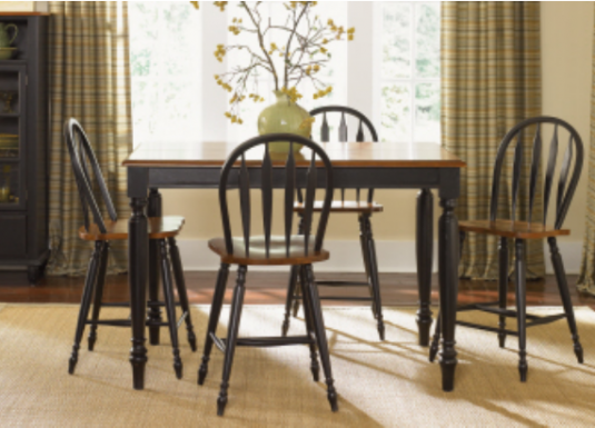 This Stunning Dining Table Collection Is Made Up Of Select Hardwood Solids And Cherry Veneers With