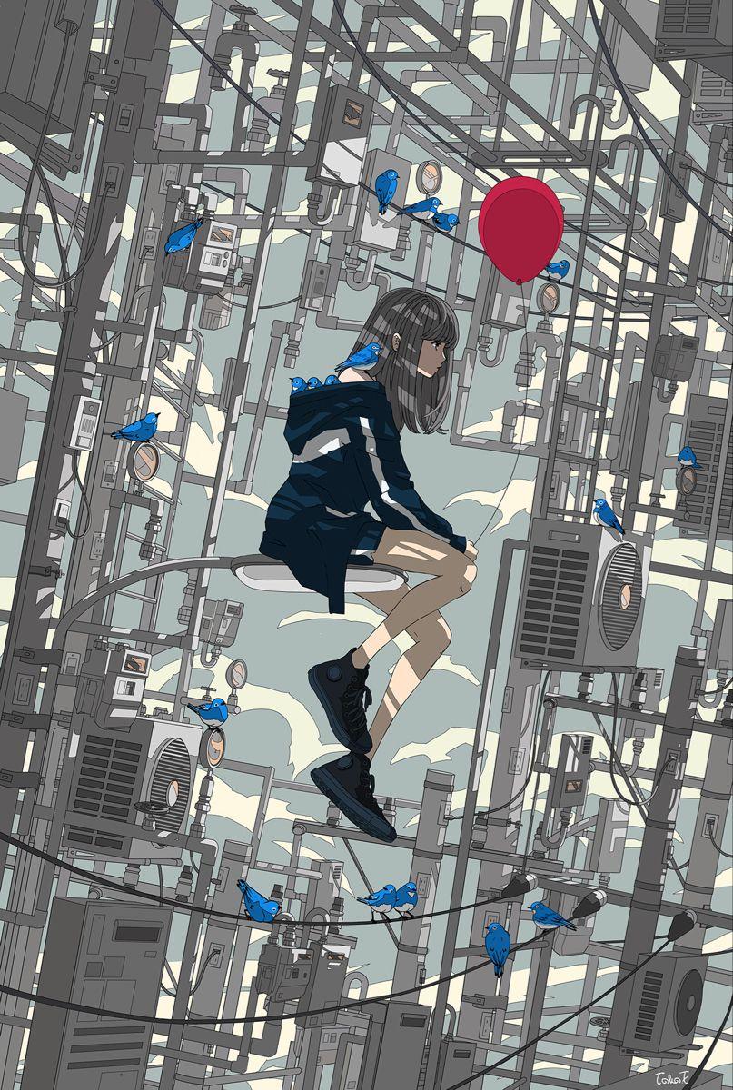 Pin by merci on Anime art in 2020 Anime art girl, Anime