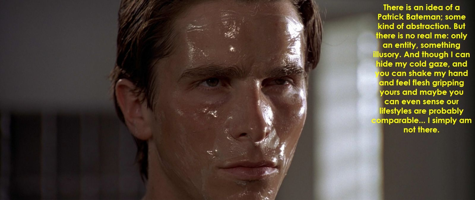 American Psycho Quotes The Semidaily Horror Movie Quote Of The Dayseptember 25 2013