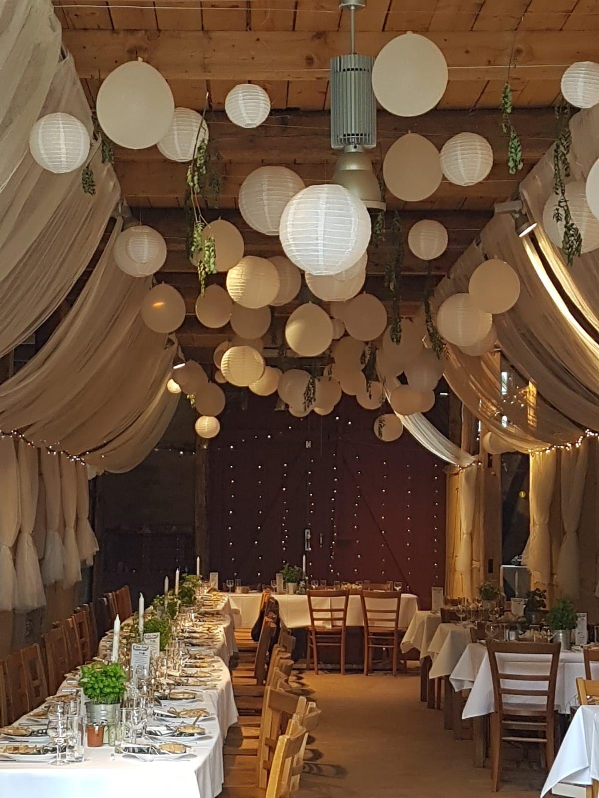 Wedding Decoration Hochzeit Lampions In Einer Scheune Wedding Love Decoration Hochzeit Lampion Landhochzeit Dekoration Scheunen Hochzeit Lampion Hochzeit
