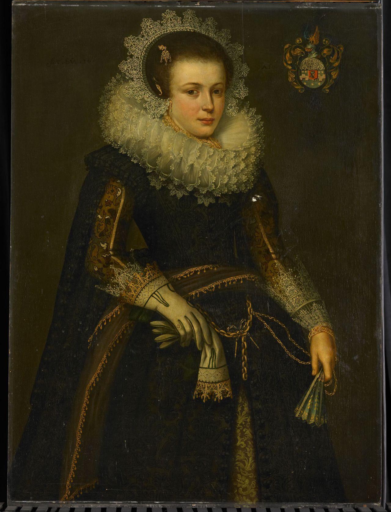 anonymous portrait of mertijntje van ceters historical