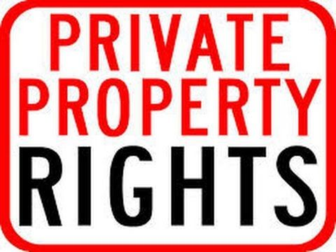 Property Rights Are For Selfish People? Just The Opposite...